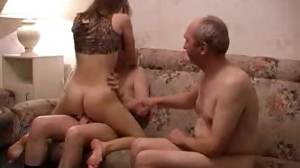 Horny Teen Fucks Her Boyfriend And His...