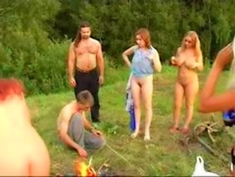 Hot Russian Outdoor Party Redtube Free...