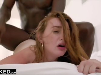 BLACKED Teen Fucks Her Sister's...
