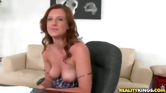 This babe said that she loves to fuck and...