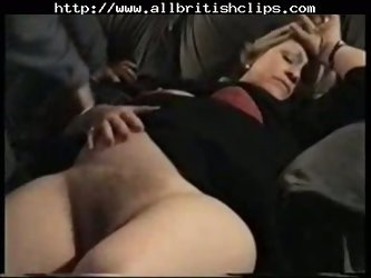 Older British Mature Nailed