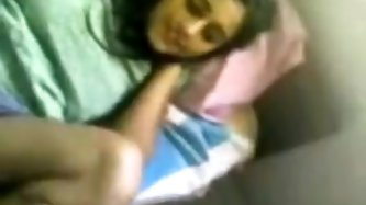 Cute Indian gal licked and sucked