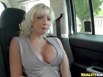 THis white haired elegnat milf is a...