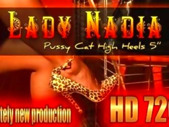 Ladynadia.com- Pussy Cat High He...