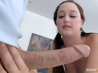 Teen girl Blaire Bank begs for private...