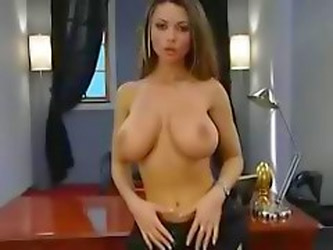Busty Babe, Danni Ashe, Sucks And Fucks...