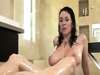 Mature Mom Seduces Son for taboo Family...