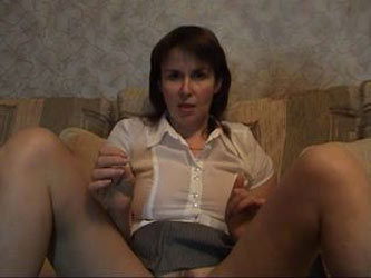 Russian mature shows her best p.2
