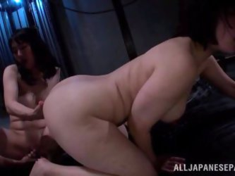 Asian Cowgirls Get Fisted Then Fucked In A...