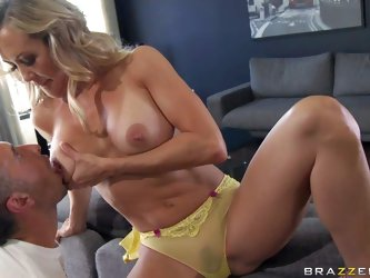 Brandi Love in a newly widowed milf with...