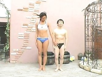 Tall Asian Woman