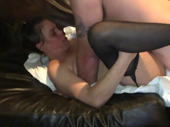 Wife fucking her married boyfriend for the...