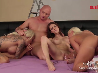 Real GERMAN FOURSOME! Watch RoxxyX MaryWet...