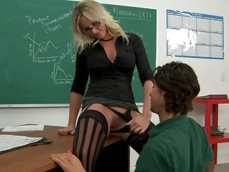 Prof. Lane wants her student to lick her...