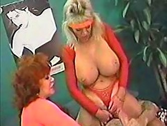 Mothe And Aunt Share Sons Big Cock