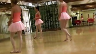 BFFS - Cute Petite Ballerina Fucked By her...