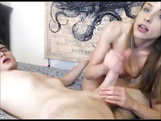 American Anal with Facial