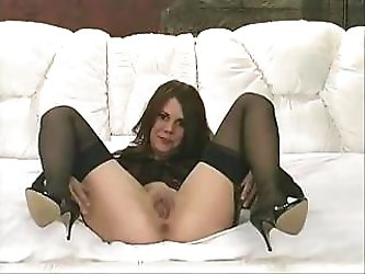 Lovely middle-aged whore in black...