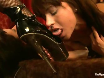 Superb girls get their pussies drilled in...