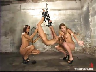 Strapon DP Action and Lots of Toying and...