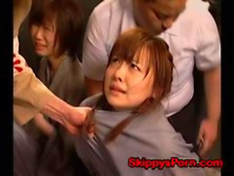 Young Japanese Prisoner Fisted